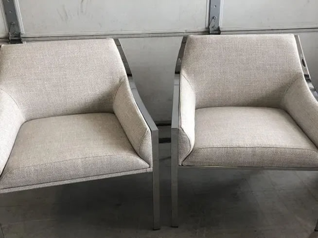 Holly Hunt chairs